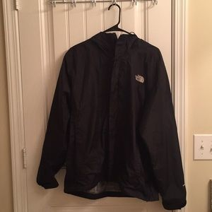 Men's north face hyvent rain jacket with hood